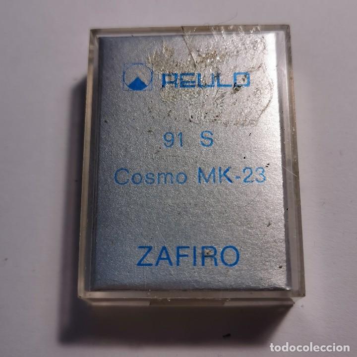 Instrumentos musicales: AGUJA TOCADISCOS ZAFIRO REULO 91 S COSMO MK-23 - NUEVA / TC-3-72 - Foto 2 - 190064753