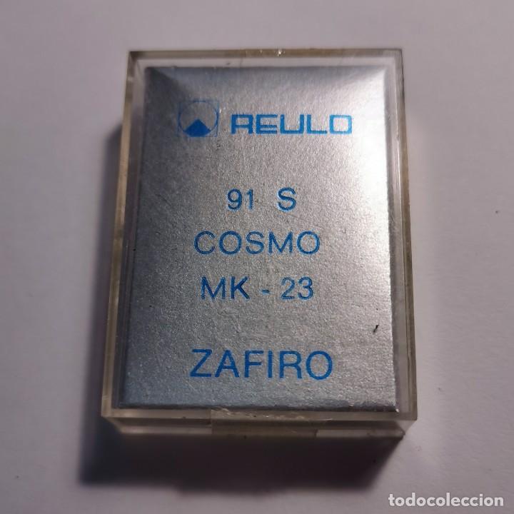 Instrumentos musicales: AGUJA TOCADISCOS ZAFIRO REULO 91 S COSMO MK-23 - NUEVA / TC-3-74 - Foto 2 - 190064765