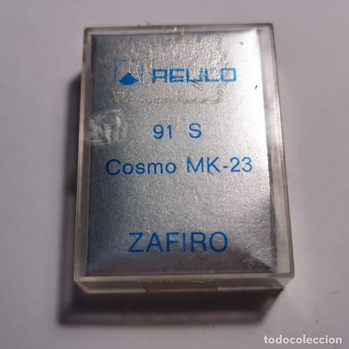Instrumentos musicales: AGUJA TOCADISCOS ZAFIRO REULO 91 S COSMO MK-23 - NUEVA / TC-3-75 - Foto 2 - 190064781
