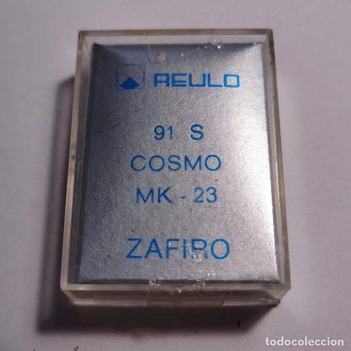 Instrumentos musicales: AGUJA TOCADISCOS ZAFIRO REULO 91 S COSMO MK-23 - NUEVA / TC-3-99 - Foto 2 - 190065145