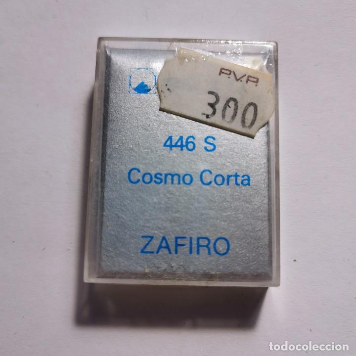 Instrumentos musicales: AGUJA TOCADISCOS ZAFIRO REULO 446 S COSMO CORTA - NUEVA / TC-3-124 - Foto 2 - 190110637