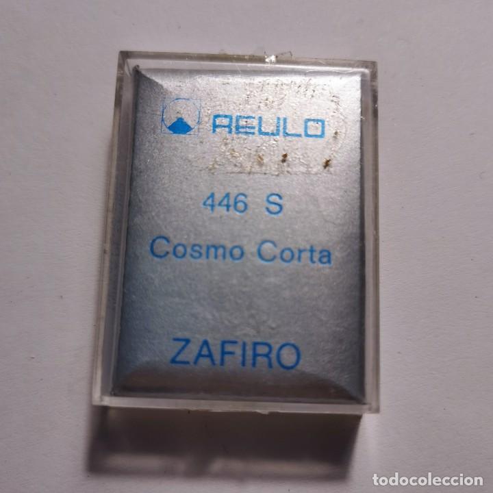 Instrumentos musicales: AGUJA TOCADISCOS ZAFIRO REULO 446 S COSMO CORTA - NUEVA / TC-3-136 - Foto 2 - 190111062