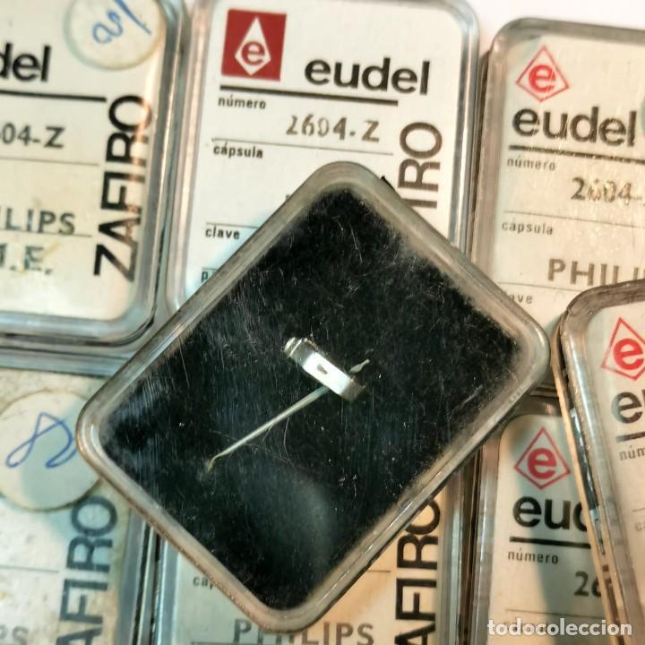 Instrumentos musicales: AGUJA TOCADISCOS EUDEL ZAFIRO - 2604-Z PHILIPS M.E. - NUEVA / TC-3-190 - Foto 2 - 190151671
