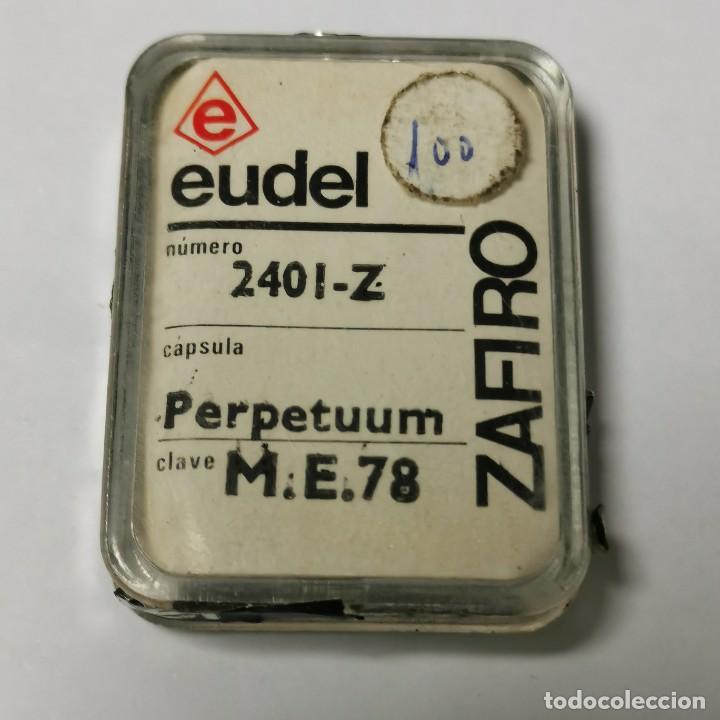 AGUJA TOCADISCOS EUDEL ZAFIRO - 2401-Z PERPETUUM ME.78 - NUEVA / TC-3-196 (Música - Instrumentos Musicales - Accesorios)