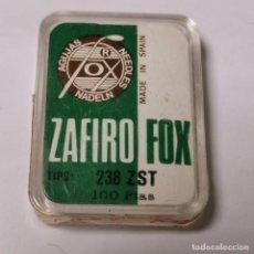 Instrumentos musicales: AGUJA TOCADISCOS FOX ZAFIRO - 31 ZM - MADE IN SPAIN - NUEVA / TC-3-230. Lote 190158555