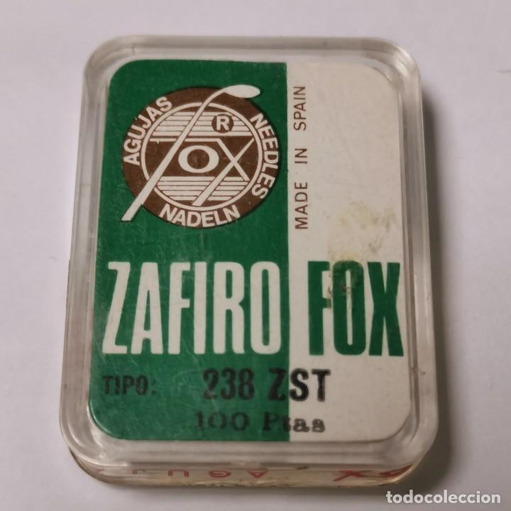AGUJA TOCADISCOS FOX ZAFIRO - 31 ZM - MADE IN SPAIN - NUEVA / TC-3-231 (Música - Instrumentos Musicales - Accesorios)