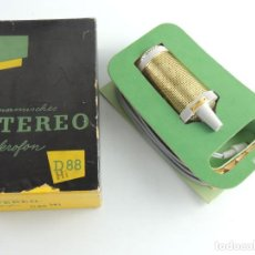 Instrumentos musicales: ANTIGUO STEREO MIKROFON SABA D88 CAJA ORIGINAL . Lote 190194730