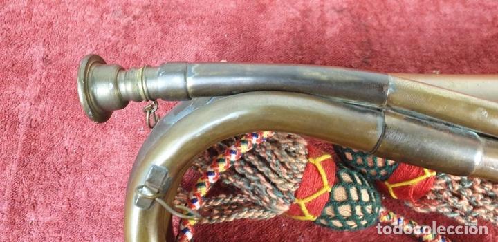 Instrumentos musicales: CORNETA DE BRASS. SPÈCIAL SERVICE GROUP. BLAK STORKS. EJERCITO PAKISTÁNI. SIGLO XX. - Foto 11 - 190195773