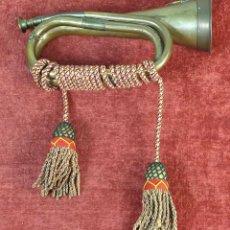Instrumentos musicales: CORNETA DE BRASS. SPÈCIAL SERVICE GROUP. BLAK STORKS. EJERCITO PAKISTÁNI. SIGLO XX.. Lote 190195773