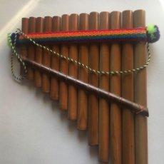 Instrumentos musicales: FLAUTA DE PAN PERUANA.. Lote 190317373