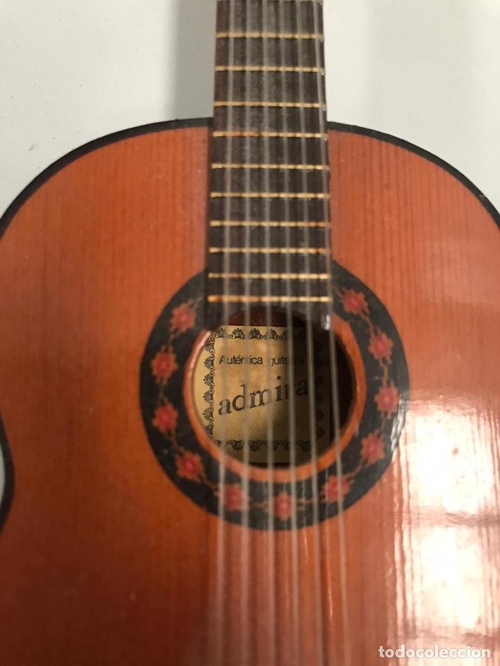 Instrumentos musicales: LOTE AUTENTICA GUITARRA ESPAÑOLA ADMIRA EN MINIATURA - Foto 2 - 190369938