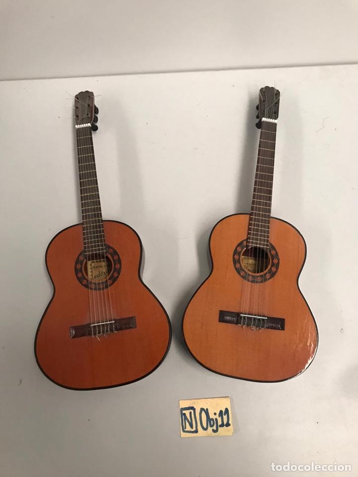 LOTE AUTENTICA GUITARRA ESPAÑOLA ADMIRA EN MINIATURA (Música - Instrumentos Musicales - Guitarras Antiguas)