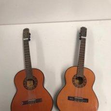 Instrumentos musicales: LOTE AUTENTICA GUITARRA ESPAÑOLA ADMIRA EN MINIATURA. Lote 190369938