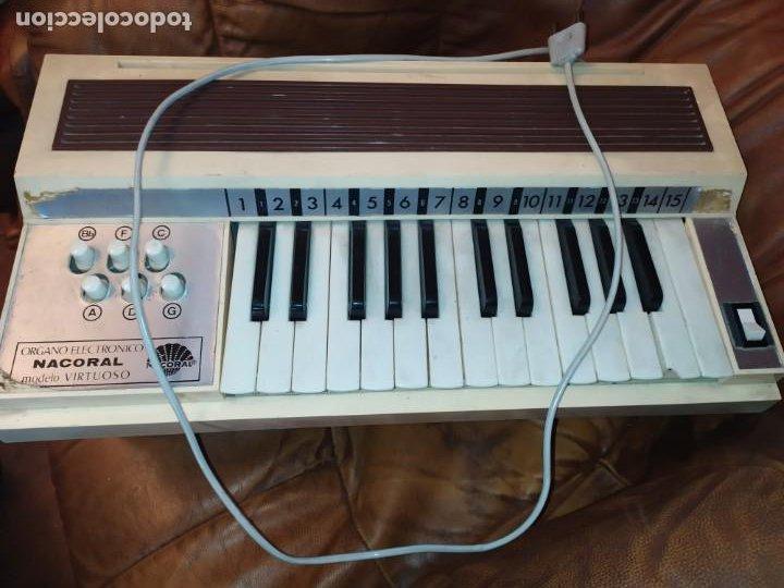 ÓRGANO ELECTRÓNICO NACORAL (Música - Instrumentos Musicales - Teclados Eléctricos y Digitales)