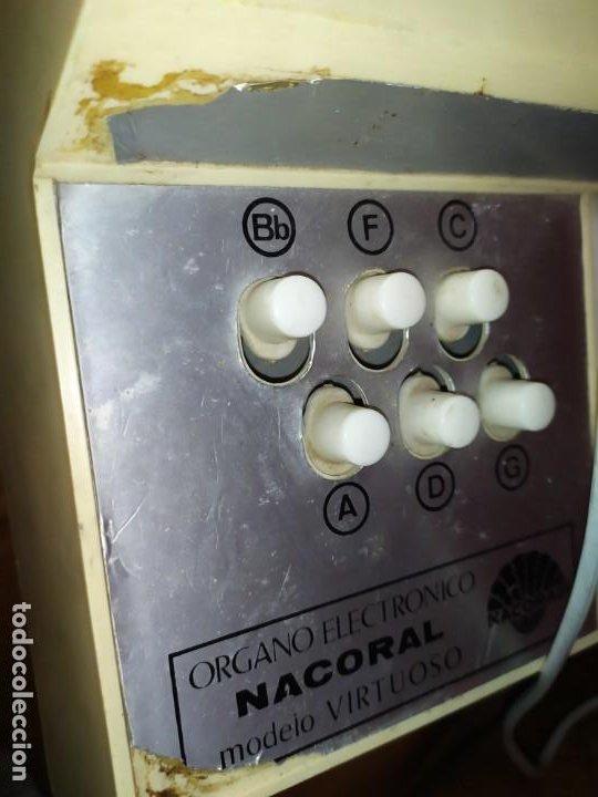 Instrumentos musicales: ÓRGANO ELECTRÓNICO NACORAL - Foto 2 - 190420692