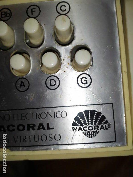 Instrumentos musicales: ÓRGANO ELECTRÓNICO NACORAL - Foto 3 - 190420692