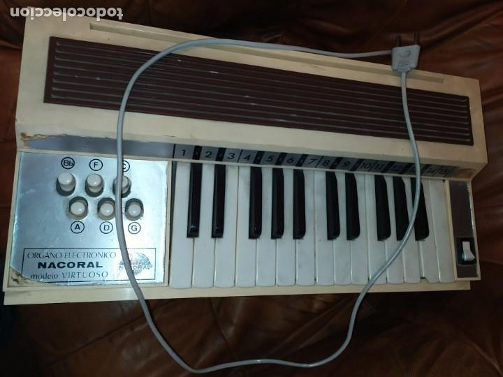 Instrumentos musicales: ÓRGANO ELECTRÓNICO NACORAL - Foto 6 - 190420692