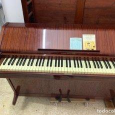 Instrumentos musicales: PIANO VERTICAL- BRODR.JORGENSEN-MODELO MINERVA K -1965. Lote 190442381