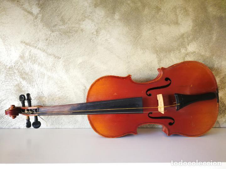 Instrumentos musicales: VIOLIN 3/4 COPY OF ANTONIUS STRADIVARIUS MADE IN GERMANY - Foto 5 - 190592682