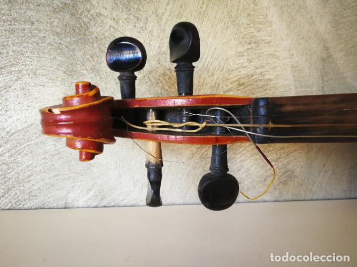 Instrumentos musicales: VIOLIN 3/4 COPY OF ANTONIUS STRADIVARIUS MADE IN GERMANY - Foto 6 - 190592682