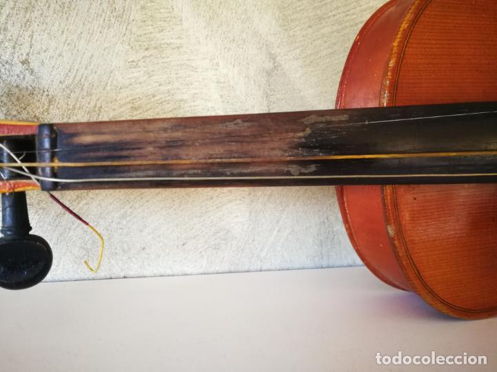 Instrumentos musicales: VIOLIN 3/4 COPY OF ANTONIUS STRADIVARIUS MADE IN GERMANY - Foto 7 - 190592682