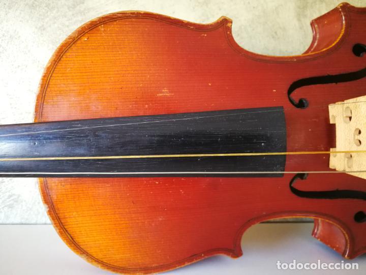 Instrumentos musicales: VIOLIN 3/4 COPY OF ANTONIUS STRADIVARIUS MADE IN GERMANY - Foto 8 - 190592682