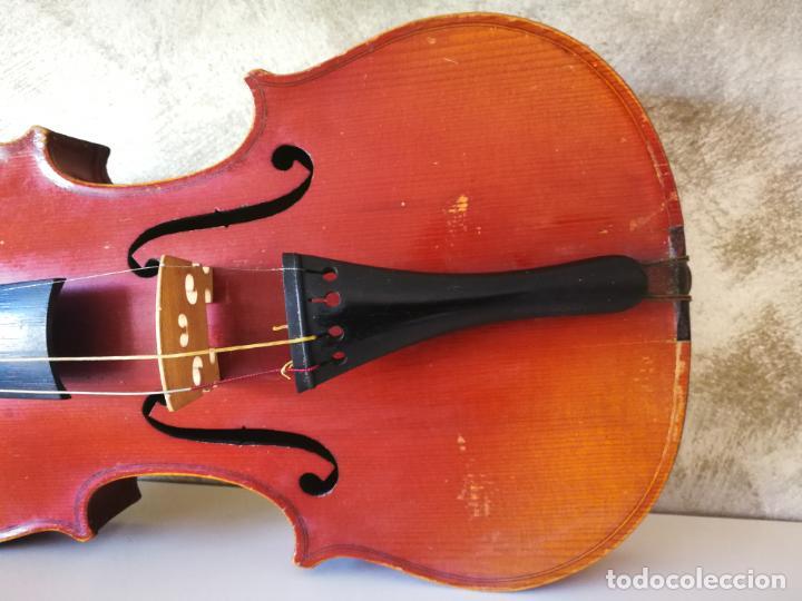 Instrumentos musicales: VIOLIN 3/4 COPY OF ANTONIUS STRADIVARIUS MADE IN GERMANY - Foto 9 - 190592682