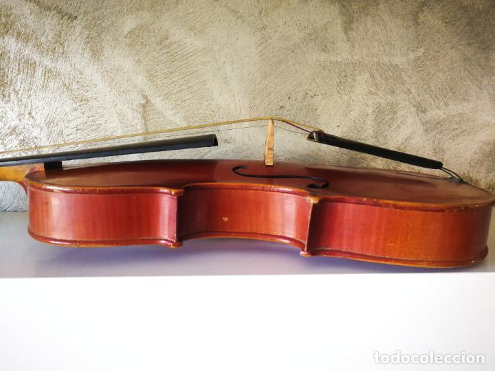 Instrumentos musicales: VIOLIN 3/4 COPY OF ANTONIUS STRADIVARIUS MADE IN GERMANY - Foto 10 - 190592682