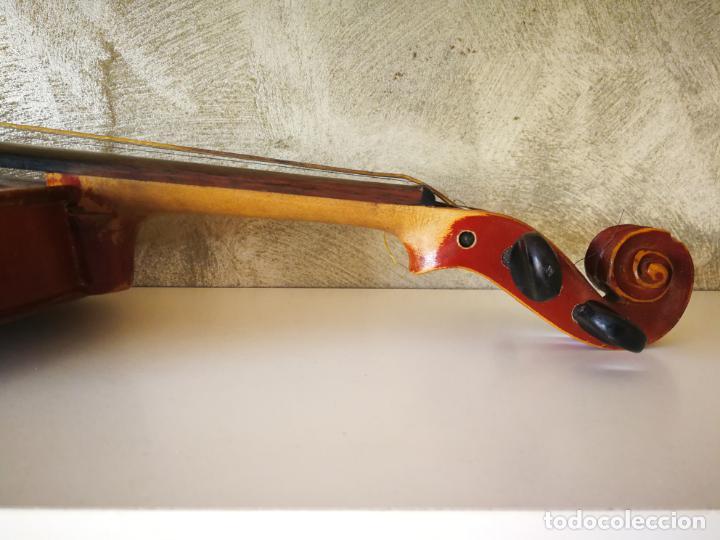 Instrumentos musicales: VIOLIN 3/4 COPY OF ANTONIUS STRADIVARIUS MADE IN GERMANY - Foto 12 - 190592682