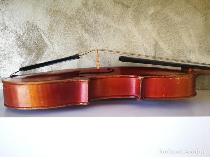Instrumentos musicales: VIOLIN 3/4 COPY OF ANTONIUS STRADIVARIUS MADE IN GERMANY - Foto 13 - 190592682