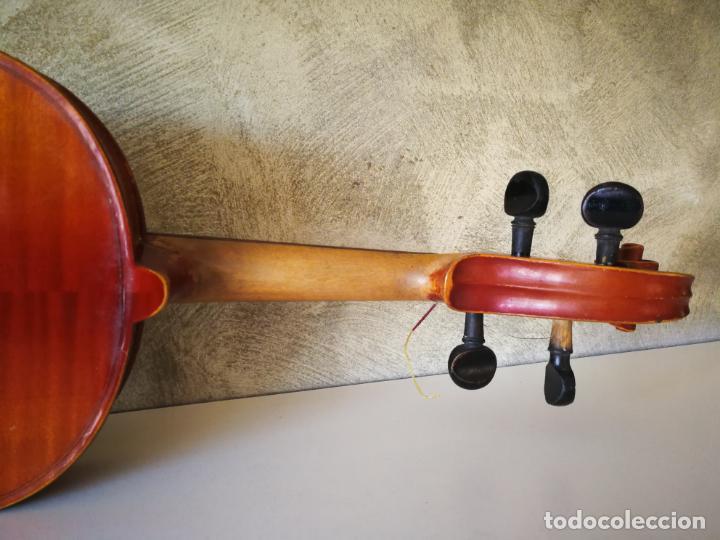 Instrumentos musicales: VIOLIN 3/4 COPY OF ANTONIUS STRADIVARIUS MADE IN GERMANY - Foto 15 - 190592682