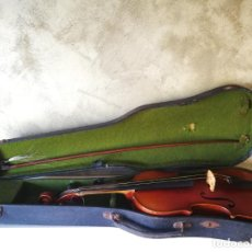 Instrumentos musicales: VIOLIN 3/4 COPY OF ANTONIUS STRADIVARIUS MADE IN GERMANY. Lote 190592682