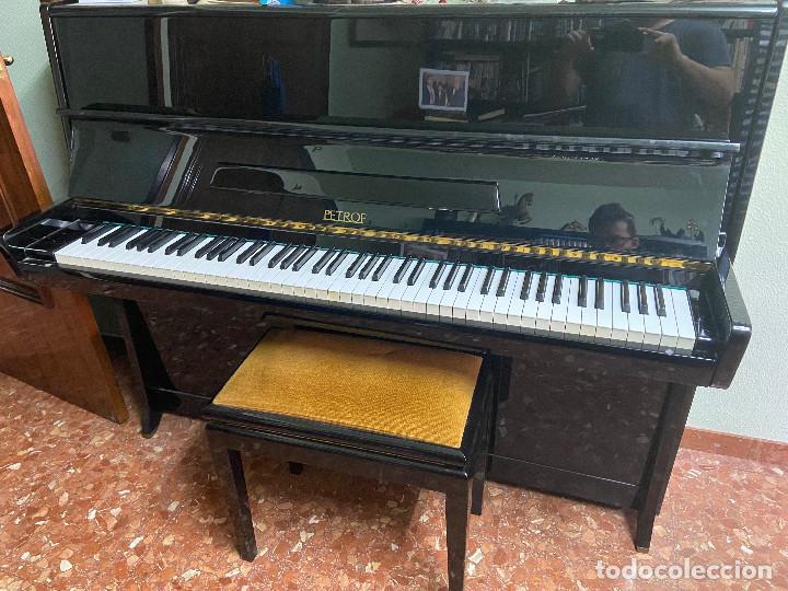 Instrumentos musicales: PIANO VERTICAL PETROF - Foto 2 - 190646440