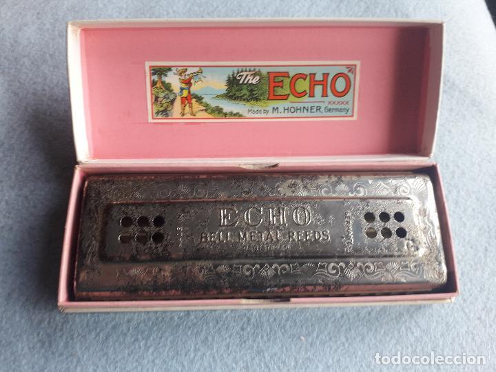 Instrumentos musicales: Armónica H.Honer. The Echo. Con caja original. Made in Germany - Foto 2 - 190751231