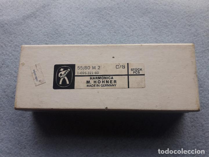 Instrumentos musicales: Armónica H.Honer. The Echo. Con caja original. Made in Germany - Foto 3 - 190751231