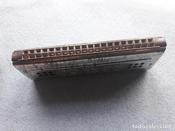 Instrumentos musicales: Armónica H.Honer. The Echo. Con caja original. Made in Germany - Foto 5 - 190751231