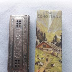 Instrumentos musicales: ARMÓNICA H.HONER. THE ECHO. CON CAJA ORIGINAL. MADE IN GERMANY. Lote 190751231