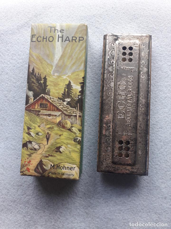 Instrumentos musicales: Armónica H.Honer. The Echo. Con caja original. Made in Germany - Foto 8 - 190751231