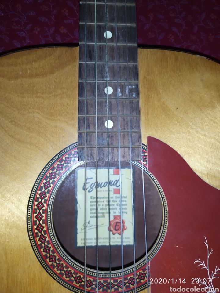 Instrumentos musicales: Guitarra Egmond - Foto 5 - 174529095
