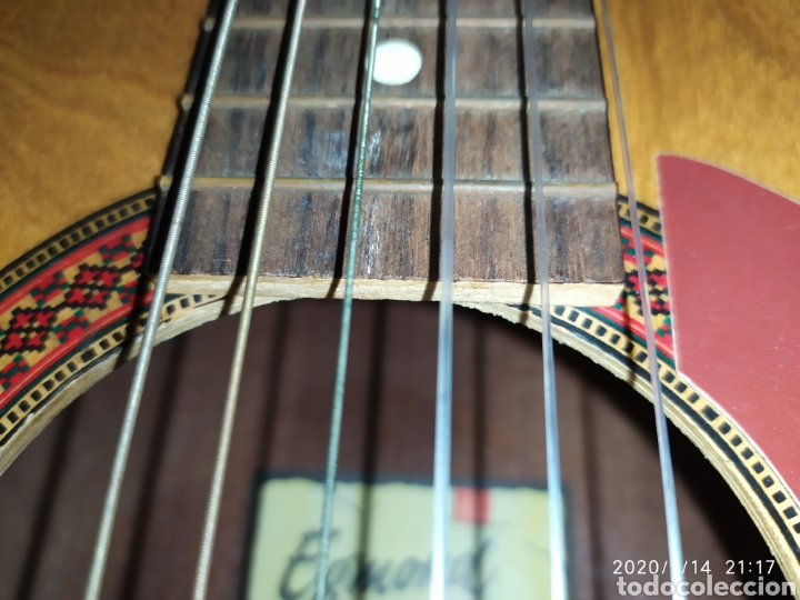 Instrumentos musicales: Guitarra Egmond - Foto 8 - 174529095