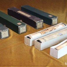 Instrumentos musicales: SIETE ROLLOS DE PIANOLA,ANTIGUOS,MARCAS VICTORIA Y DIANA,CANCIONES POPULARES... Lote 190999671