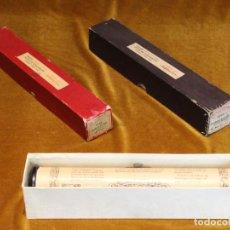 Instrumentos musicales: TRES ROLLOS ANTIGUOS DE PIANOLA,MARCA VICTORIA,CAVALLERIA RUSTICANA.. Lote 191002146