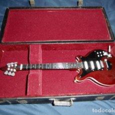 Instrumentos musicales: GUITARRA MAQUETA EN MINIATURA 25 CMS APROX. Lote 191247805