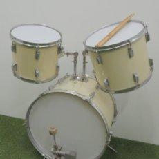 Instrumentos musicales: CONJUNTO BATERIA BOMBO CONDOS TOM-TOM MARCA FLYNG Y PEDAL PARA EL BOMBO MARCA TAMA RECOGIDA LOCAL. Lote 191574753