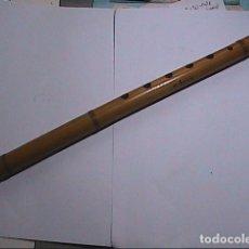 Instrumentos musicales: EXCELENTE QUENA / KENA DE CAÑA. FIRMADA M. SANNINI. AFINADA EN LA. 36 CM.. Lote 191694748