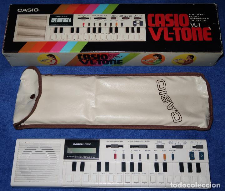 CASIO VL-TONE VL-1 - CASIO ¡FUNCIONANDO! (Música - Instrumentos Musicales - Teclados Eléctricos y Digitales)