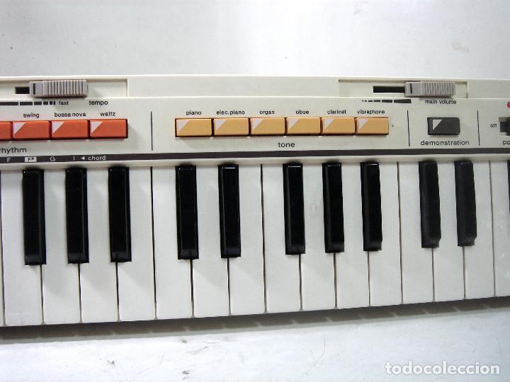 Instrumentos musicales: DIFICIL TECLADO ELECTRONICO - CASIO MT-35 JAPAN AÑOS 80 ¡¡FUNCIONANDO¡- CASIOTONE MT35 ORGANO PIANO - Foto 3 - 219378258
