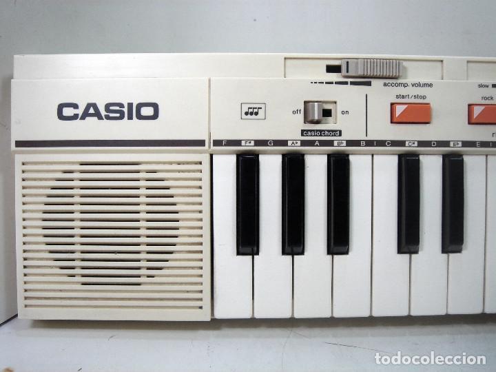 Instrumentos musicales: DIFICIL TECLADO ELECTRONICO - CASIO MT-35 JAPAN AÑOS 80 ¡¡FUNCIONANDO¡- CASIOTONE MT35 ORGANO PIANO - Foto 5 - 219378258