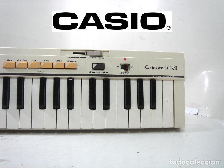DIFICIL TECLADO ELECTRONICO - CASIO MT-35 JAPAN AÑOS 80 ¡¡FUNCIONANDO¡- CASIOTONE MT35 ORGANO PIANO (Música - Instrumentos Musicales - Teclados Eléctricos y Digitales)
