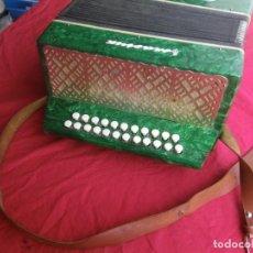 Instrumentos musicales: ANTIGUO ACORDEON FUNCIONANDO BIEN , MUY BONITO ..VER . Lote 192236988